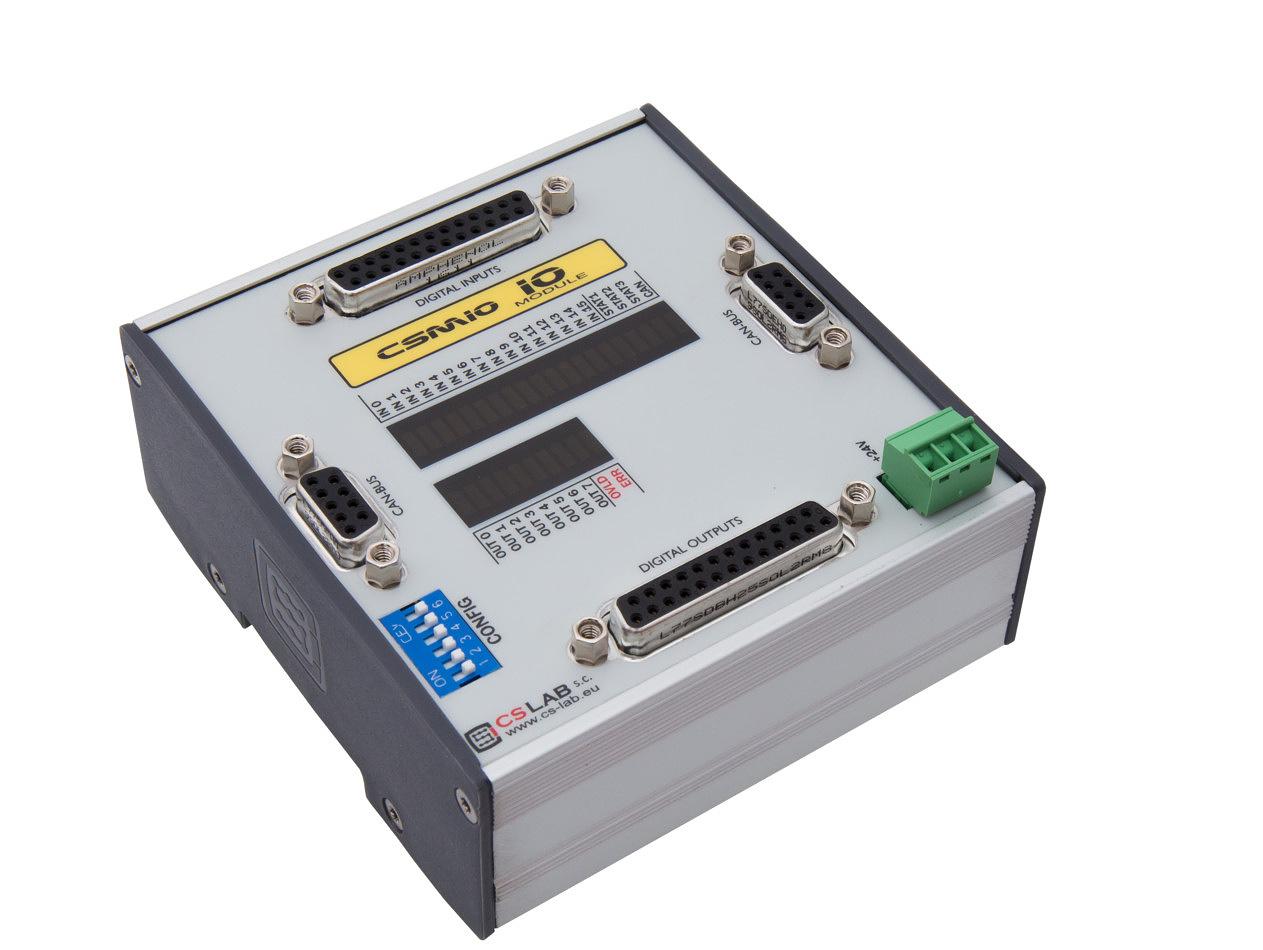 CSMIO-IO moduł dodatkowych we/wy do CSMIO/IP-S i CSMIO/IP-A