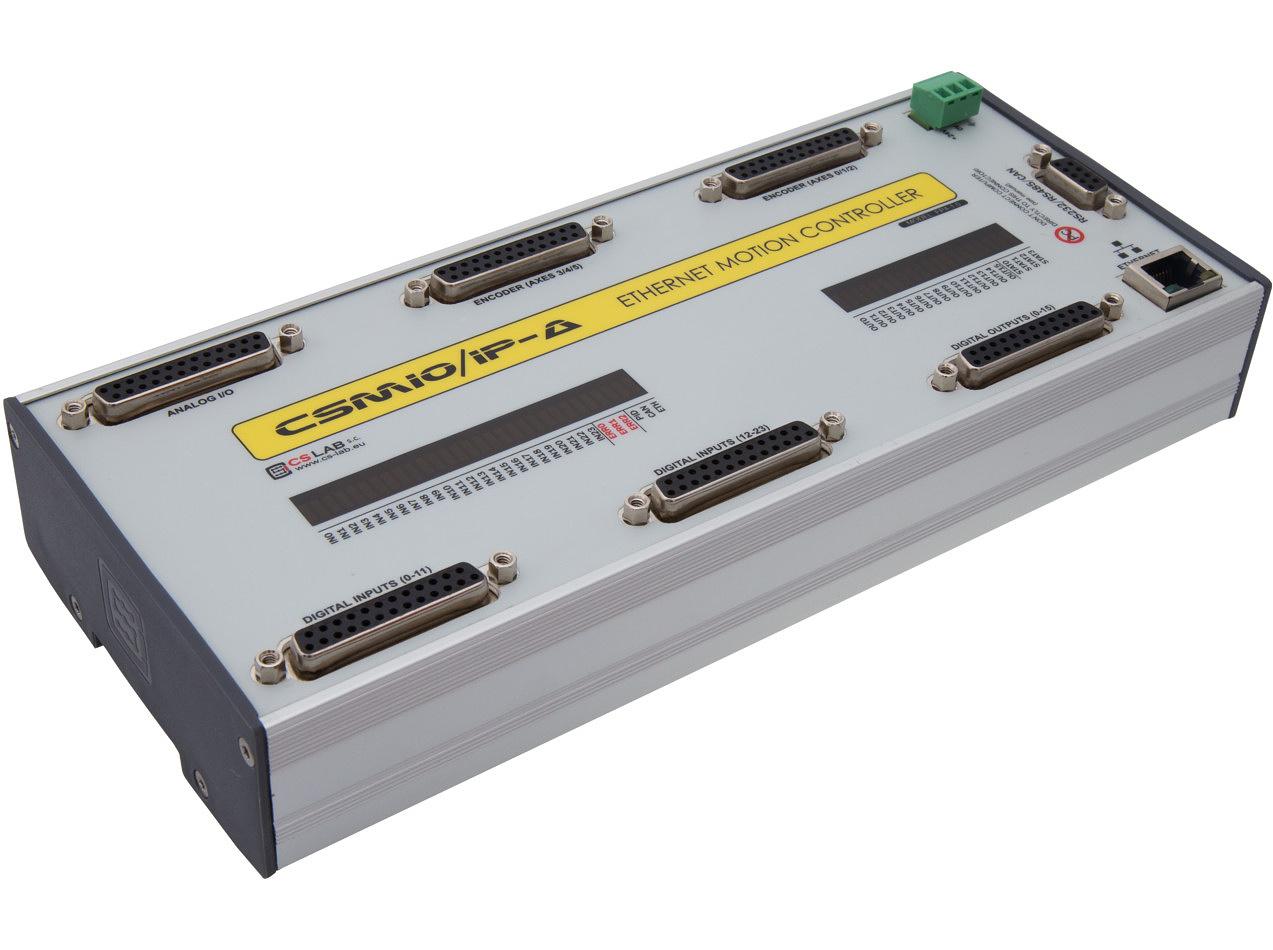 CSMIO/IP-A  6-osiowy sterownik CNC Ethernet (+/- 10V)