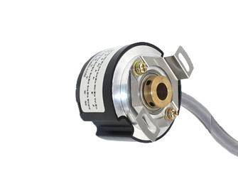 Enkoder inkrementalny – sygnał różnicowy/TTL 5V/2500 p/rev na zbocze