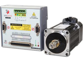 Zestaw Serwonapęd & Silnik 400W: simDrive™ + CSM Servo Motor
