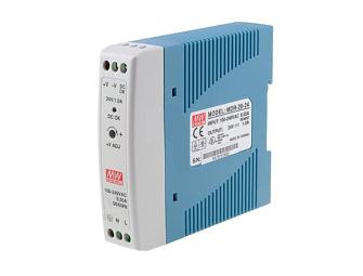Zasilacz impulsowy na szynę DIN 24V/1A firmy Mean Well