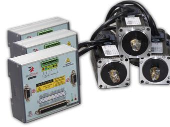 Zestaw na 3 osie Serwonapęd & Silnik 400W: simDrive™ + CSM Servo Motor