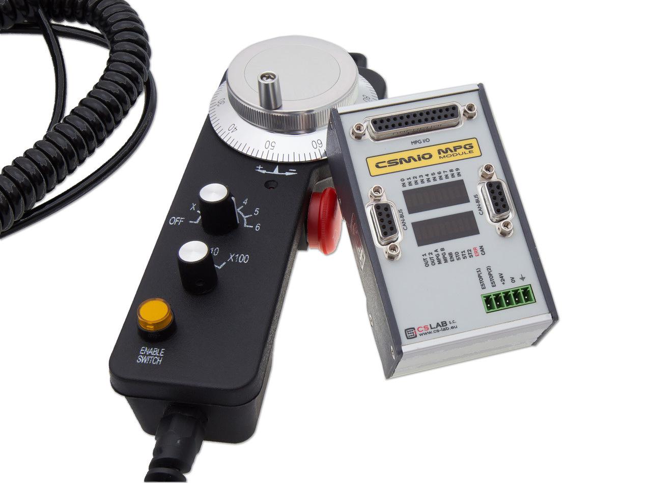 CSMIO-MPG Zestaw – moduł CSMIO-MPG z ręcznym manipulatorem
