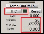 THC ustawienia