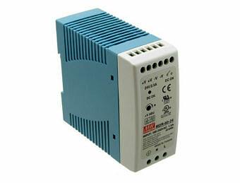Zasilacz impulsowy na szynę DIN 24V/2,5A firmy Mean Well