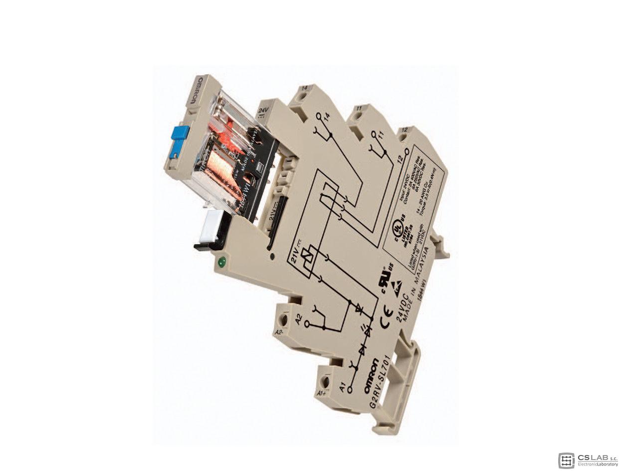 Przekaźnik – Slim Relay Test Switch firmy Omron